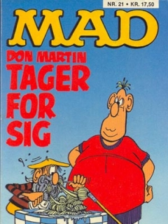 Go to Don Martin tager for sig #21 • Denmark • 2nd Edition - Semic