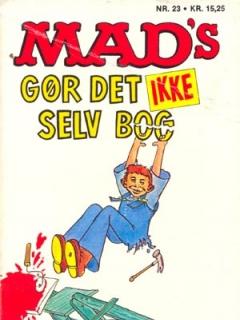 MADs gor det ikke selv bog #23 • Denmark • 2nd Edition - Semic