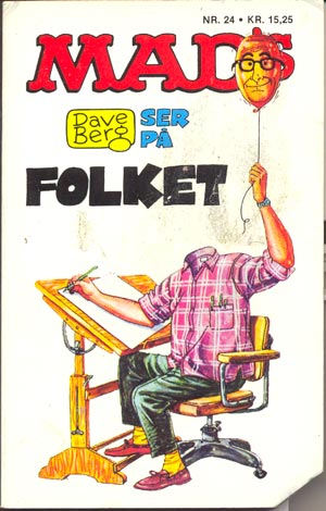 Dave Berg ser pa folket #24 • Denmark • 2nd Edition - Semic
