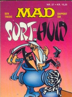 Go to Den tredie MAD rapport om Surt & Huid #27 • Denmark • 2nd Edition - Semic