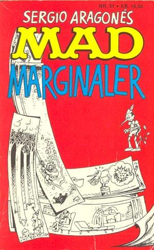 MAD marginaler #31 • Denmark • 2nd Edition - Semic