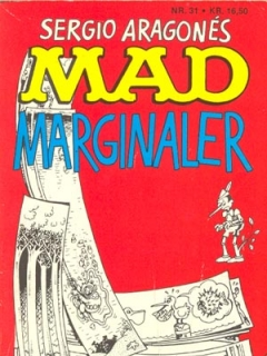 MAD marginaler #31 • Denmark • 2nd Edition - Semic