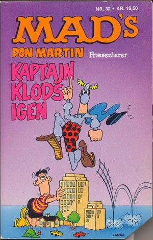 Kaptajn Klods igen #32 • Denmark • 2nd Edition - Semic
