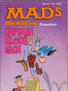 Go to Kaptajn Klods igen #32 • Denmark • 2nd Edition - Semic
