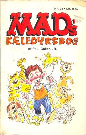MADs kaeledyrsbog #33 • Denmark • 2nd Edition - Semic