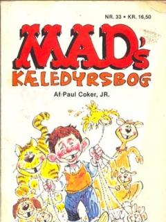 Go to MADs kaeledyrsbog #33 • Denmark • 2nd Edition - Semic