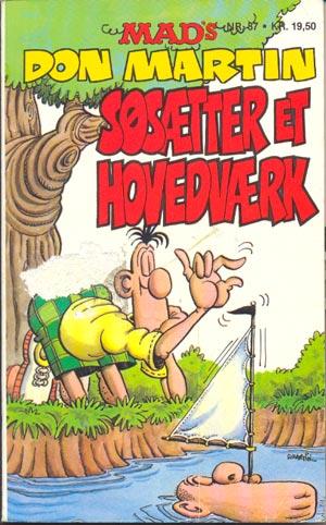 MADs Don Martin sosaetter et hovedvaerk #37 • Denmark • 2nd Edition - Semic