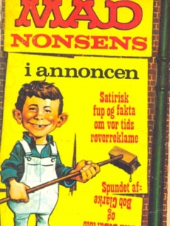 Go to MADs nonsens i annoncen • Denmark • 1st Edition - Williams