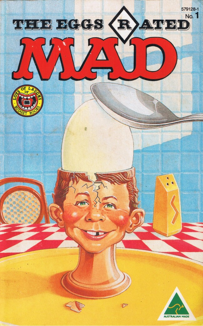 The eggs rated MAD #1 • Australia