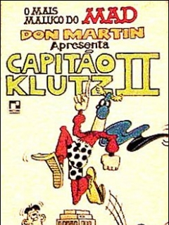 Don Martin a presenta Capitao Klutz #2 • Brasil • 2nd Edition - Record
