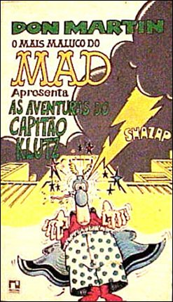 MAD a presenta as aventuras do Capitao Klutz #1 • Brasil • 2nd Edition - Record