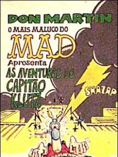 MAD a presenta as aventuras do Capitao Klutz #1 • Brasil • 2nd Edition - Record