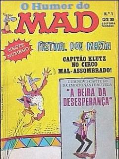O humor do MAD Paperbacks #1 • Brasil • 1st Edition - Veechi