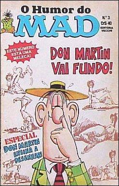 O Humor Do MAD Paperbacks (Vecchi) #3 • Brasil • 1st Edition - Veechi