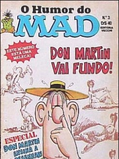 Go to O humor do MAD Paperbacks #3 • Brasil • 1st Edition - Veechi