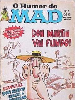 O humor do MAD Paperbacks #3 • Brasil • 1st Edition - Veechi