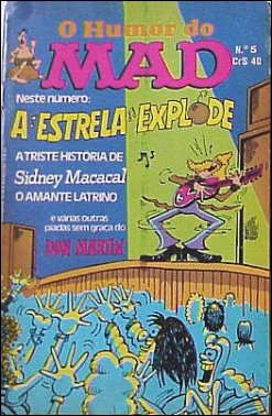 O Humor Do MAD Paperbacks (Vecchi) #5 • Brasil • 1st Edition - Veechi