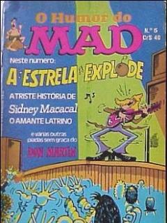O humor do MAD Paperbacks #5 • Brasil • 1st Edition - Veechi