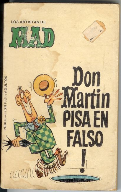 Los Artistas de MAD: Don Martin pisa en falso! #3 • Spain • 2nd Edition - Locuras