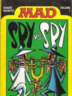 Go to Spy vs Spy - Dossie Secreto #1