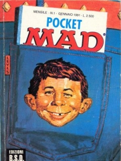 Pocket MAD #1 • Italy • 3rd Edition
