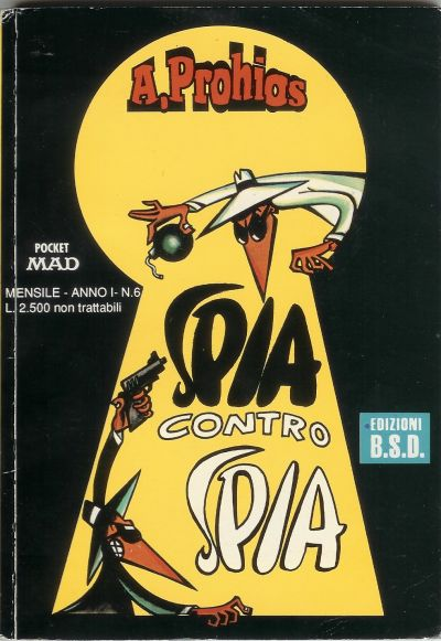 Spia contra Spia #6 • Italy • 3rd Edition