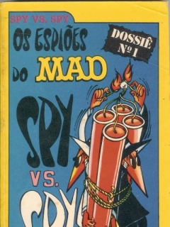 Go to Os espios do MAD Spy vs. Spy Dossie No1 #5 • Brasil • 1st Edition - Veechi