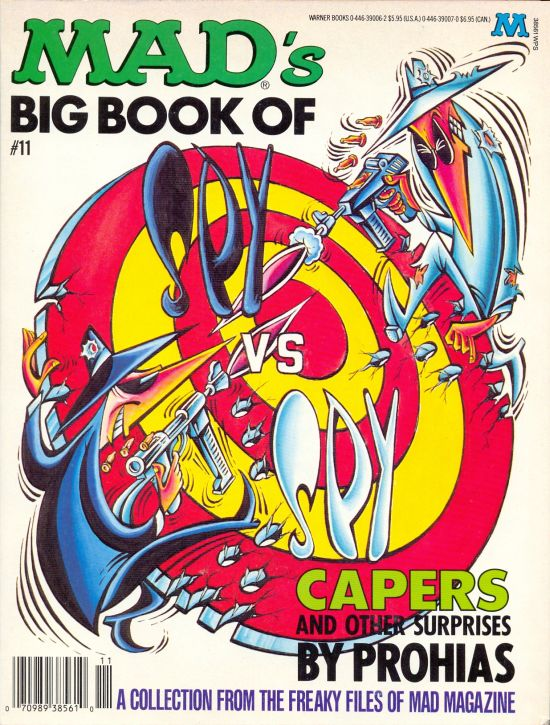 MADs Big Book of Spy vs. Spy: Capers and other Surprises #11 • USA • 1st Edition - New York