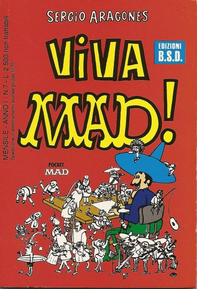 Viva MAD! #7 • Italy • 3rd Edition