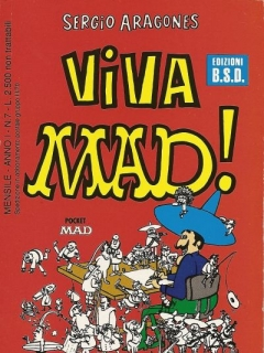 Viva MAD! #7 • Italy • 3rd Edition