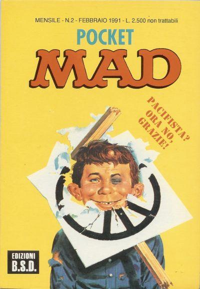 Pocket MAD #2 • Italy • 3rd Edition