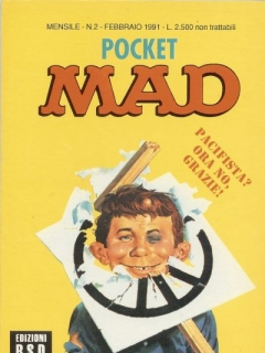 Pocket MAD #2 • Italy • 3rd Edition