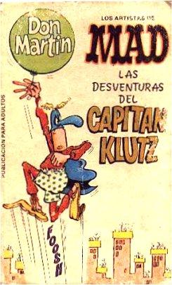 Las desventuras del Capitan Klutz • Argentina