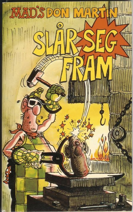 Mad's Don Martin slår seg fram #2 • Norway • 2nd Edition - Semic