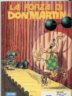 Go to La Forza di Don Martin #8 • Italy • 3rd Edition