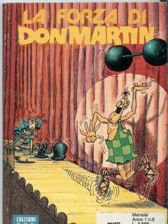 La Forza di Don Martin #8 • Italy • 3rd Edition