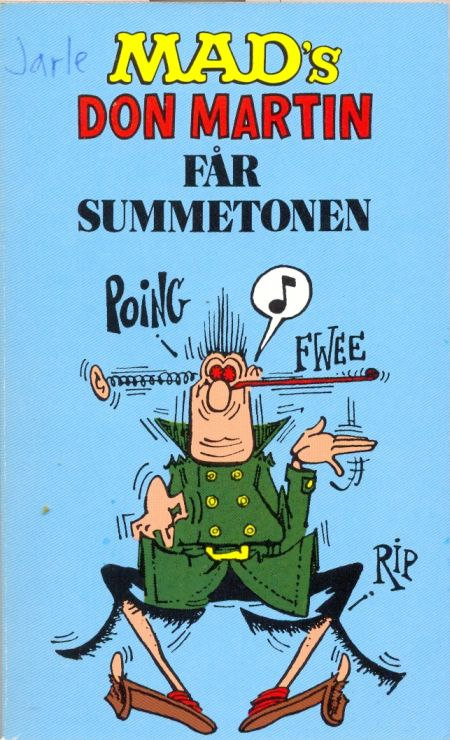 Mad's Don Martin får summetonen #10 • Norway • 2nd Edition - Semic