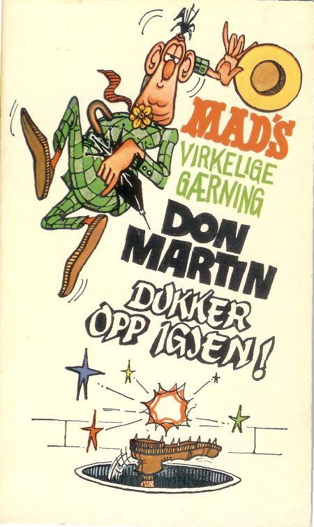Mad's virkelige gærning Don Martin dukker opp igjen #3 • Norway • 1st Edition - Williams