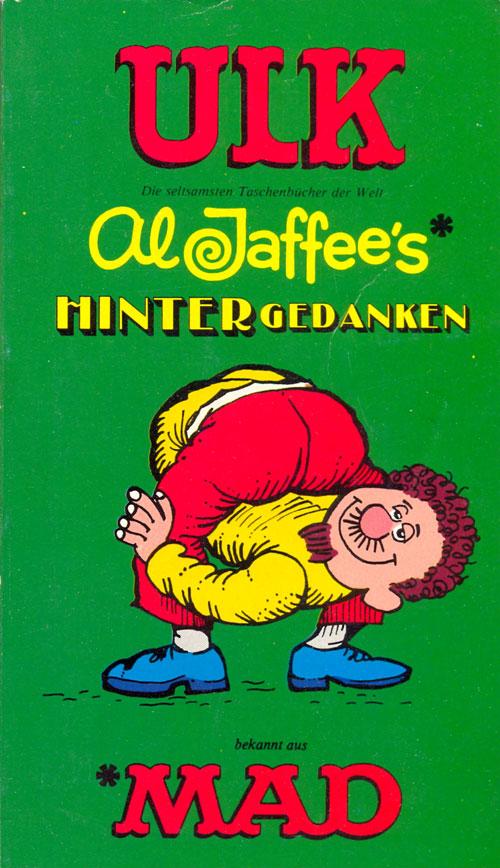 ULK Taschenbuch: Al Jaffee's Hintergedanken #23 • Germany • 1st Edition - Williams