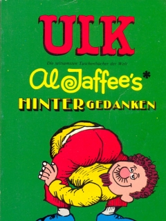 Go to ULK Taschenbuch: Al Jaffee's Hintergedanken #23 • Germany • 1st Edition - Williams