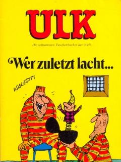 Go to ULK Taschenbuch: Wer zuletzt lacht... #19 • Germany • 1st Edition - Williams