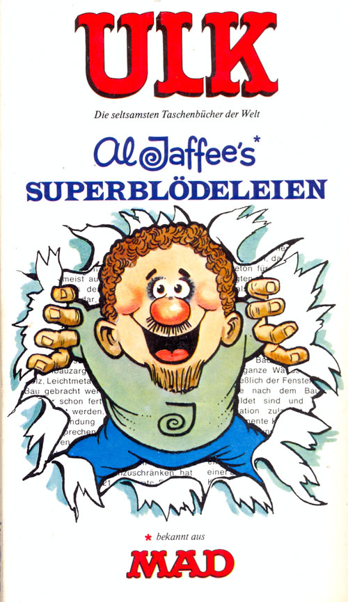 ULK Taschenbuch: Al Jaffee's Superblödeleien #8 • Germany • 1st Edition - Williams