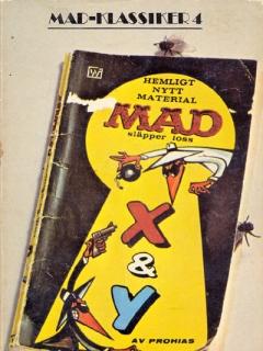 Go to MAD-Klassiker #4: MAD släpper loss X & Y • Sweden
