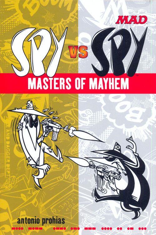 Spy vs. Spy Masters of Mayhem • USA • 1st Edition - New York