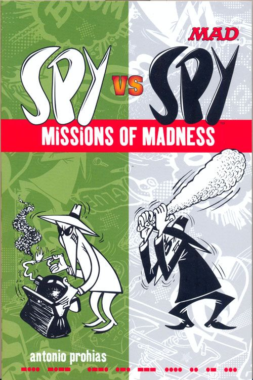 Spy vs Spy Missions of Madness • USA • 1st Edition - New York