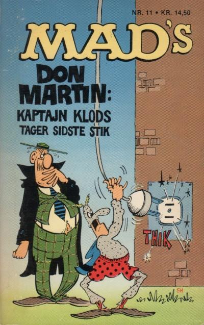 Kaptajn Klods Tager Det Sidste Stik #11 • Denmark • 2nd Edition - Semic