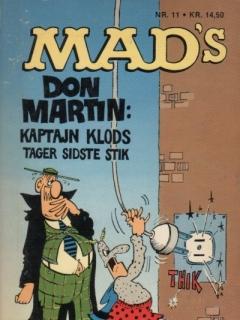 Go to Kaptajn Klods Tager Det Sidste Stik #11 • Denmark • 2nd Edition - Semic