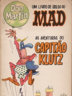 Go to Don Martin - As Aventuras do Capitão Klutz • Brasil • 1st Edition - Veechi