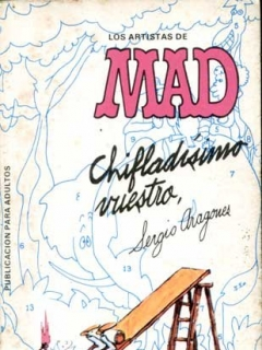 Go to Los Artistas de MAD: CHIFLADÍSIMO VUESTRO #2 • Spain • 2nd Edition - Locuras