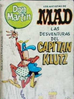 Go to Los Artistas de MAD: LAS DESVENTURAS DEL CAPITAN KLUTZ #4 • Spain • 2nd Edition - Locuras